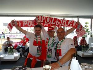 Euro 2012 Stadion Narodowy mecz Polska - Grecja - strefa Castrol sponsor Mistrzostw Europy