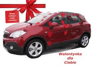 Opel Meriva Walentynką dzisiaj jest