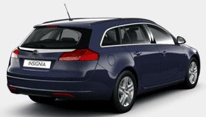 Opel nsignia na gaz