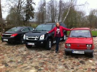 Opel, Isuzu, Maluch & Me