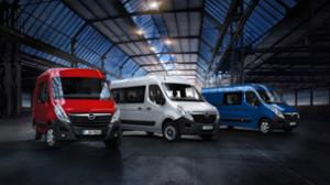Opel Movano różne nadwozia