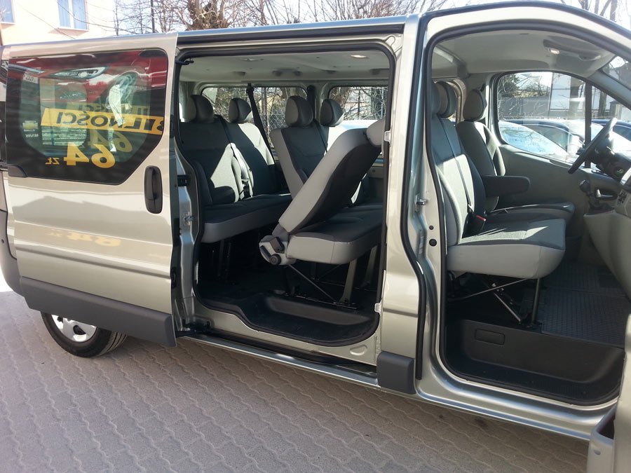 Niewiarygodnie Opel Vivaro nr 1 minibus   Blog Dixi-Car UR61
